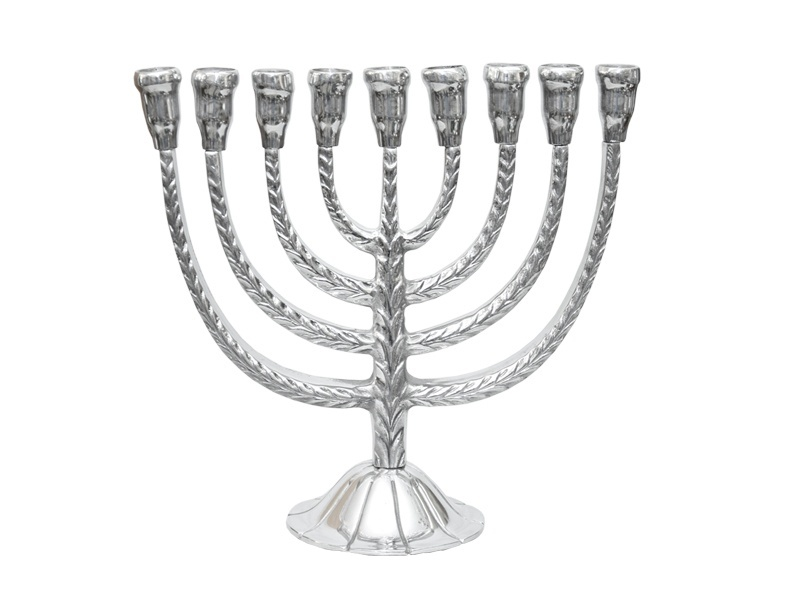 .large menorah 9 lights