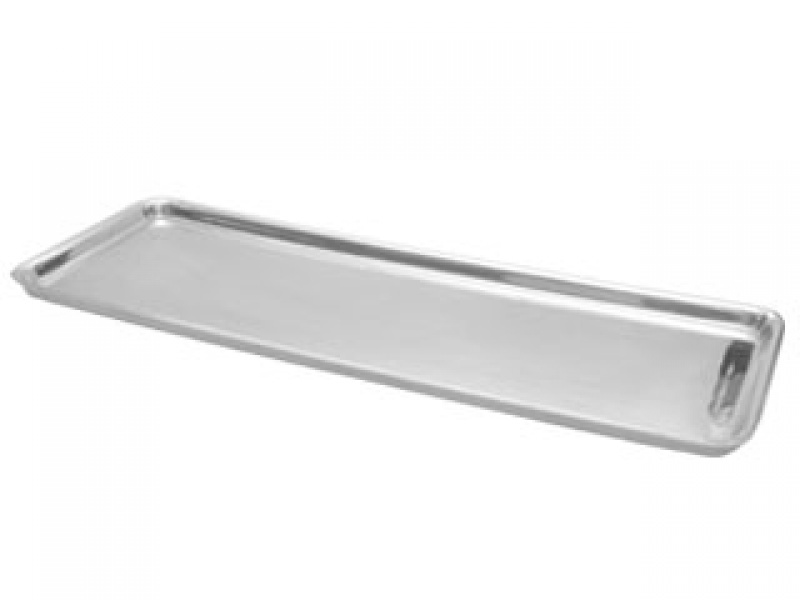 large flat ensenada  baguette tray with edges