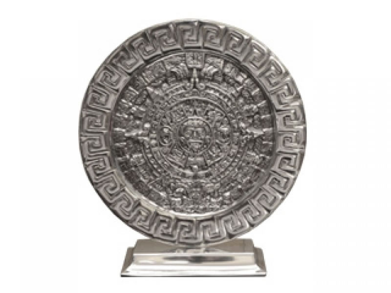 calendario azteca con base rectangular gde