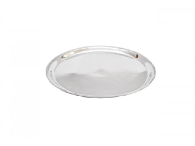 medium round boston tray without handles