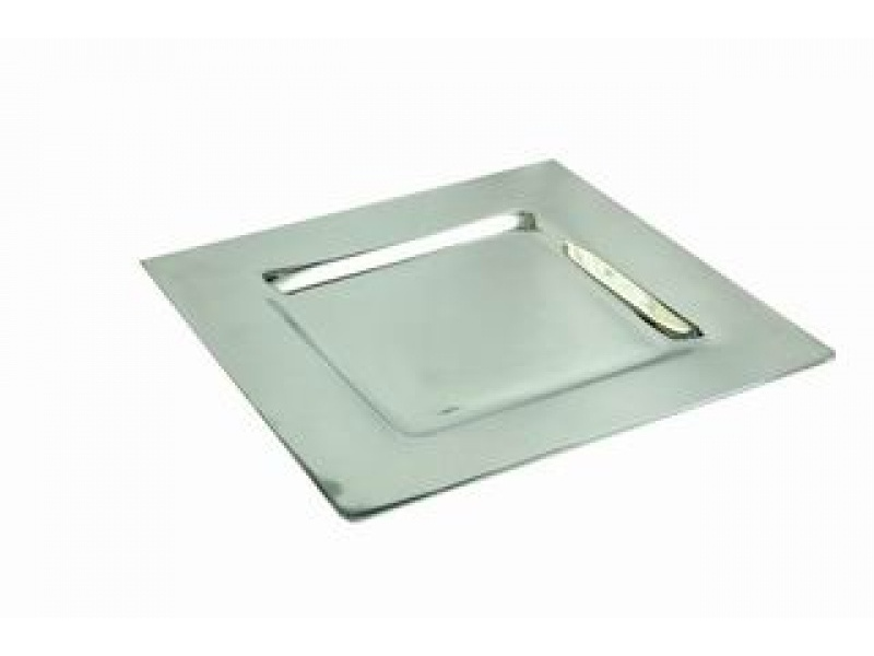 small square smooth liso tray