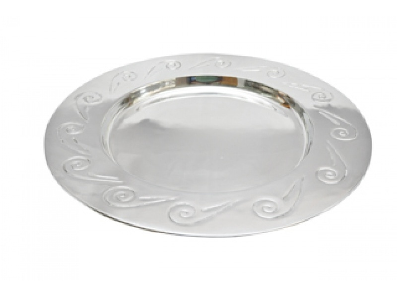 extra large round espiral tray