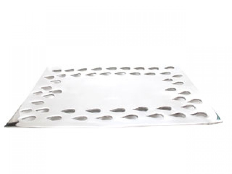 medium flat rectangular gotas tray
