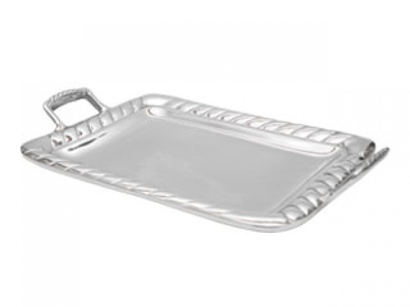 large wide lazo tray with handles