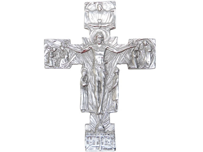 .medium life of christ cross