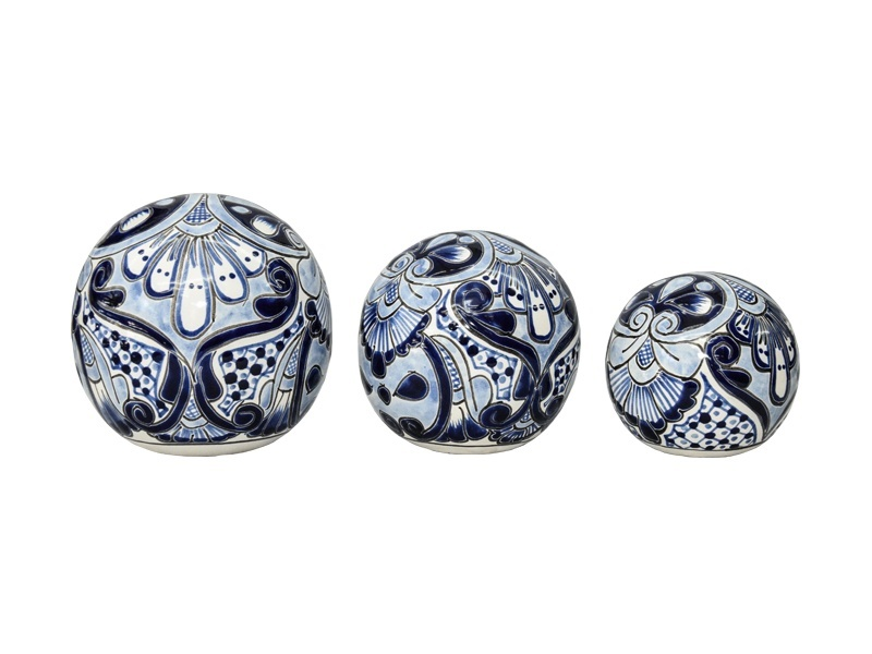 3 spheres talavera set