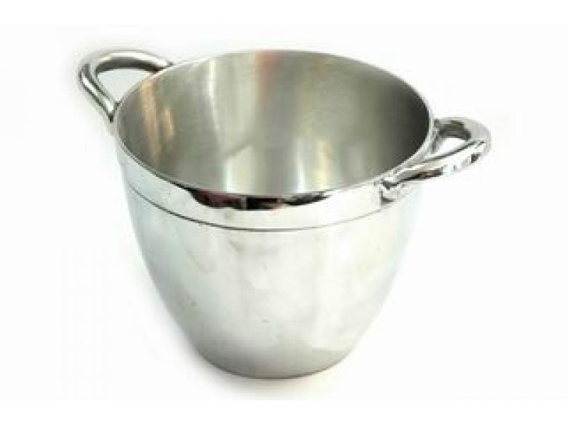large smooth round cooler with handles