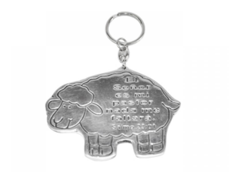small borrego con salmo key chain