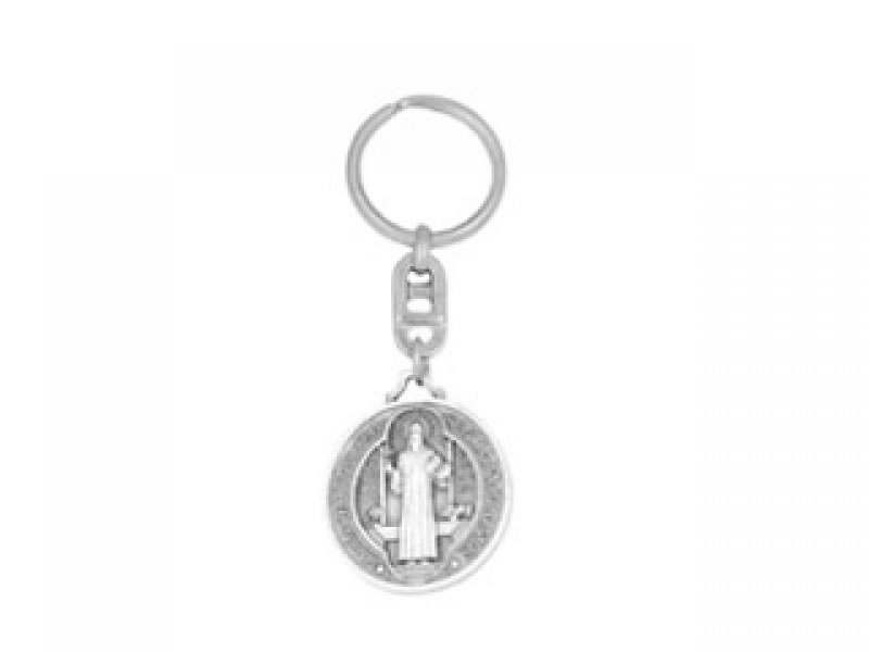 mini round san benito key chain