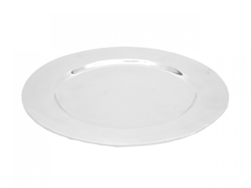 large  acapulco aspen charger plate