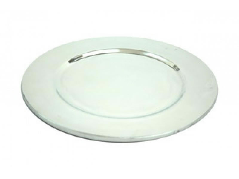 large tepic  smooth liso charger plate