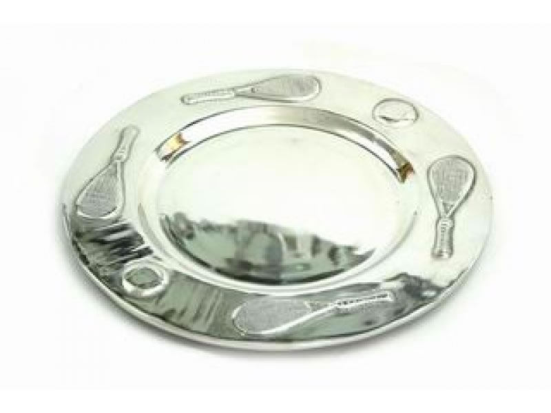large  tampico tenis charger plate