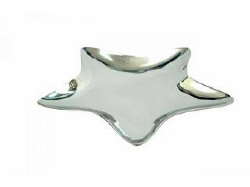 flat estrella candle holder