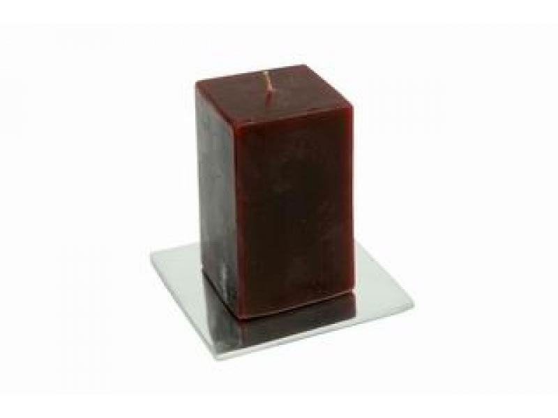 extra large square placa candle holder